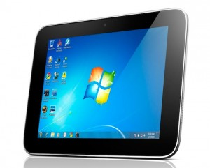 Планшет IdeaPad P1 с Windows 7 от Lenovo