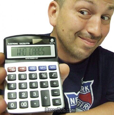 Prank Calculator - Весёлый калькулятор