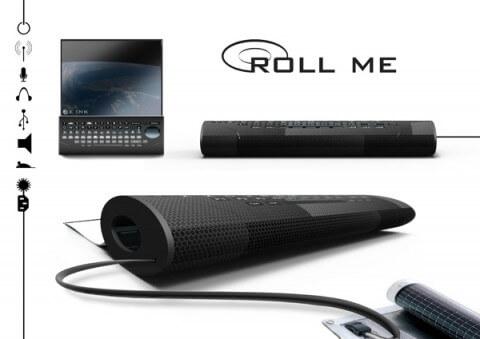 Roll Me - Сворачиваемый компьютер