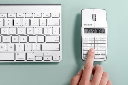 Мышка-калькулятор от Canon